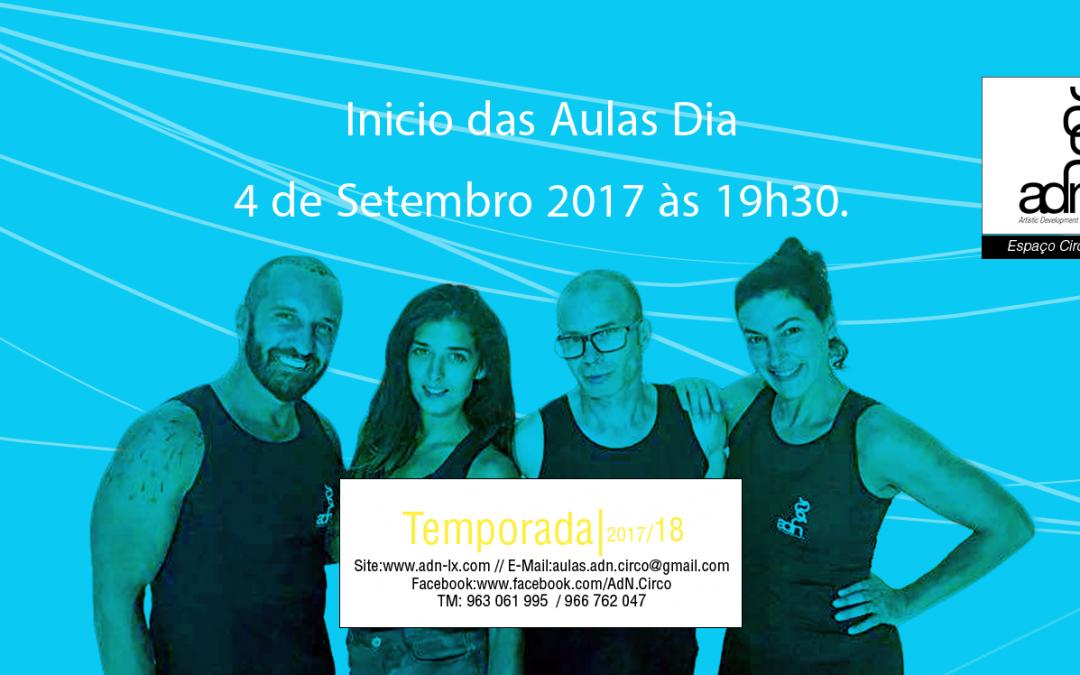 Aulas 2017/2018